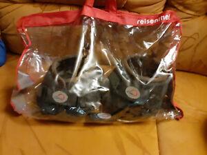 hufschuhe gebraucht, Größe 5 von Cavallo in der Farbe schwarz
