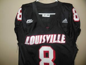 LOUISVILLE CARDINALS GAME USED  FOOTBALL JERSEY