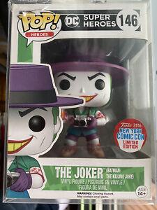 Pop Funko (Batman the killing joke) Joker 2016 New York Comic Con  Limited Ed.