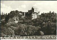 Ansichtskarte Bad Kösen - Die Rudelsburg - schwarz/weiß
