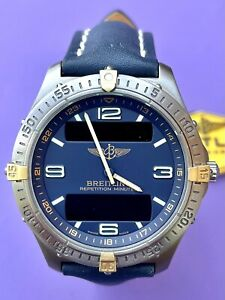 Breitling Aerospace Repetition Minutes Titanium Watch Swiss Made F65062