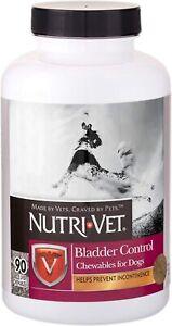 Nutri-Vet Bladder ControlDog Bladder Control Supplement Urinary Incontinence 90