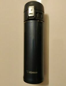 Zojirushi Stainless Steel Vacuum Insulated Flask Thermos Blue SM-KHE48-AG Locks