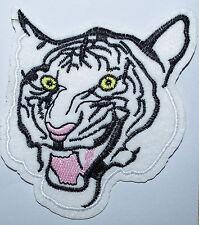 big Bengal tiger cat puma jaguar lion cheetah animal applique iron on patch