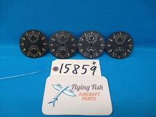 Lot of Breitling Wakmann 8 Day Clock Indicator Faces Swiss Usaf A-10A (15859)