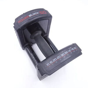 Single PowerBlock Sport 50 Adjustable Dumbbell Handle Only No Weight