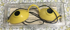 1988 LUCAS SUPER SUNNIES YELLOW NEW IN CASE INSTRUCTIONS SUNLAMP TANNING BED
