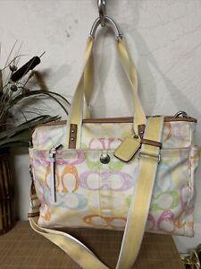 Coach Hampton's Collection Care Bag Diaper Shoulder Bag