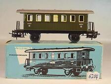 Märklin H0 4040 Personenwagen 2.Klasse Donnerbüchse Blech i hellblauer Box #6204