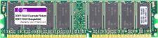 512mb Micron Ddr1 Ram Pc3200u 400mhz Cl3 Desktop Memory Mt16vddt6464ag-40bcb