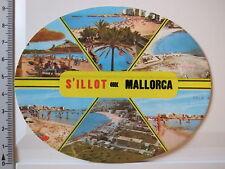 Aufkleber Sticker Mallorca - Urlaub - Meer - Spanien - S'Illot - Decal V2 (3275)