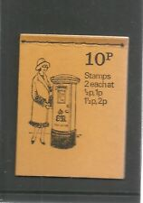 Great Britain Booklet 10p Febbruary 1973 British Pillar Boxes N 7  Mint