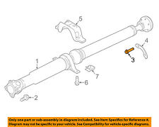 LAND ROVER OEM Rear Suspension-Drive Shaft Assembly Rear Bolt TYP500180