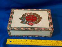 Eden Tampa VTG Antique Cigar Box Corona De Luxe Rare Inner Label 1904 Grand