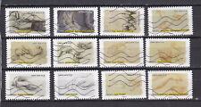 Serie sellos adhesivos de Francia 2015 Yvert AD 1084/95