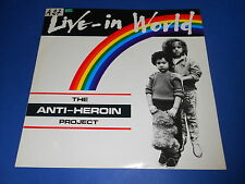 The Anti-Heroin Project - Live-in world - 1986