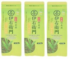 3 pcs IYEMON CHA Green Tea Leaf with Matcha Blend Brown Rice Tea Japan 200g