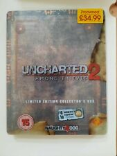 Uncharted 2: Among Thieves Limited Edition steel case (Sony PlayStation 3, 2009)