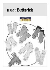 "BUTTERICK SEWING PATTERN 5370 HISTORICAL GLOVES 7 STYLES SIZES S-M-L 7"", 8"", 9"""