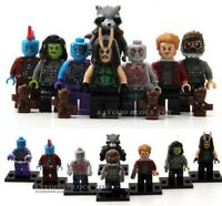 Guardians Of The Galaxy Marvel Super Heroes Star Lord Mini Figures Use With lego