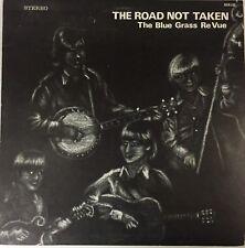 The Blue Grass Re Vue –The Road Not Taken 1973 LP Vinyl Record Album Bluegrass