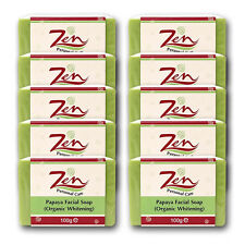 PAPAYA FACIAL SOAP Organic Whitening Pack 10 For face, neck, underarm, knees