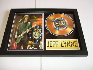 JEFF LYNNE   SIGNED  GOLD CD  DISC   938