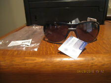 NWT--SunDog Sunglasses--Zup #21030--Black Frame with Grey Mela Lens