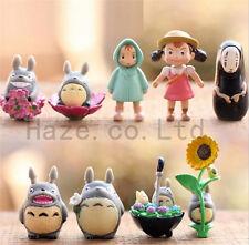 Hayao Miyazaki Japan Cartoon My Neighbor Totoro Cosplay Figures Toy 9pcs/set