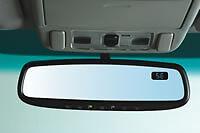 Interior Rear View Mirror-Auto-Dimming Mirror w/Compass & Homelink SUBARU OEM