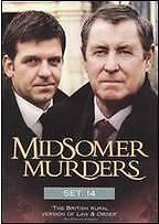 4 DVD Midsomer Murders Set 14: John Nettles Jason Hughes Jane Wymark Peter Eyre