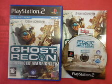 TOM CLANCY'S GHOST RECON ADVANCED WARFIGHTER PS2 PLAYSTATION 2 PAL USATO