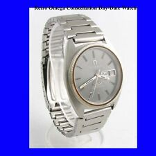Mint Steel Retro Omega Constellation DayDate Watch 1974