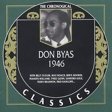 DON BYAS 1946 CLASSICS CD NEW SEALED LONG OUT OF PRINT