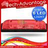 12V WATERPROOF 6-LED RED LAMP STRIP BOAT/TRAILER/MARKER/CLEARANCE/COURTESY LIGHT