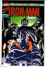 IRON MAN : LE RETOUR DES HEROS    : N°  10     MARVEL FRANCE