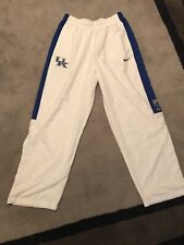 Nike Elite Kentucky Wildcats Uk Basketball Pants Dri Fit Large L Like New