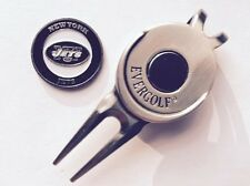 Nfl New York Jets Ny Ball Marker and Magnetic Divot Tool