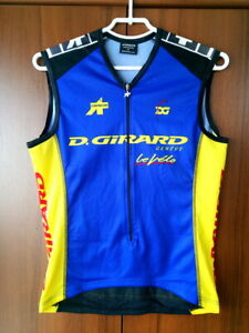 Cycling Jersey Sleeveless Top Vintage Assos D.Girard Team size M (49 cm)