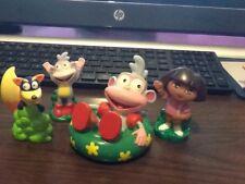 Dora the Explorer Vinyl Plastic Tub Bath Water Toys Lot