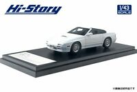 1/43 HI STORY HS246WH MAZDA SAVANNA FC3S RX7 CABRIOLET 1989 WHITE model car