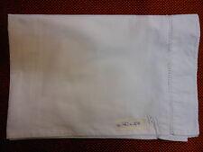 Federa cotone misto lino  70x47 Cotton pillowcase  taie d'oreiller coton B8