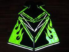 Heatwave phat pants rave gear reflective dance wear hardstyle reflector trousers
