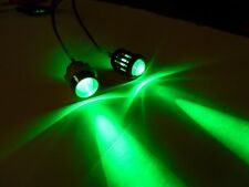 10MM Green RC LEDs Lights w/ holders RX plug & play Truck Car Quadcopter 3.7-12V