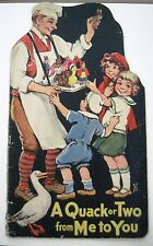 Large Frances Brundage Children's Book w/Adorable Pics of Children & Animals*