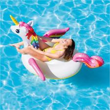 Flotador Unicornio hinchable tamaño 198x140x97 cm de Intex para adultos y niños