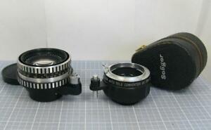 Carl Zeiss Jena Pancolar 50mm f/2 Lens Exakta Mount Made in Germany Soligor 2X