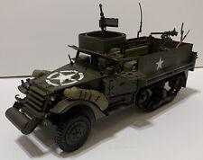 21st century toys 1/18 Halftracker M3A3 Multi Gun Carrier Supply