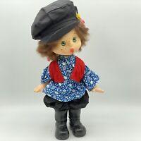 """Vintage USSR Russian Plastic Vinyl Doll Soviet 12"""""""