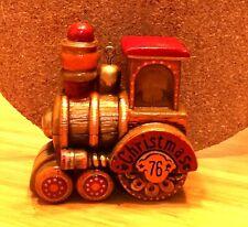 Hallmark 1976 Vintage Yesteryears Train Christmas Ornament Qx 1811